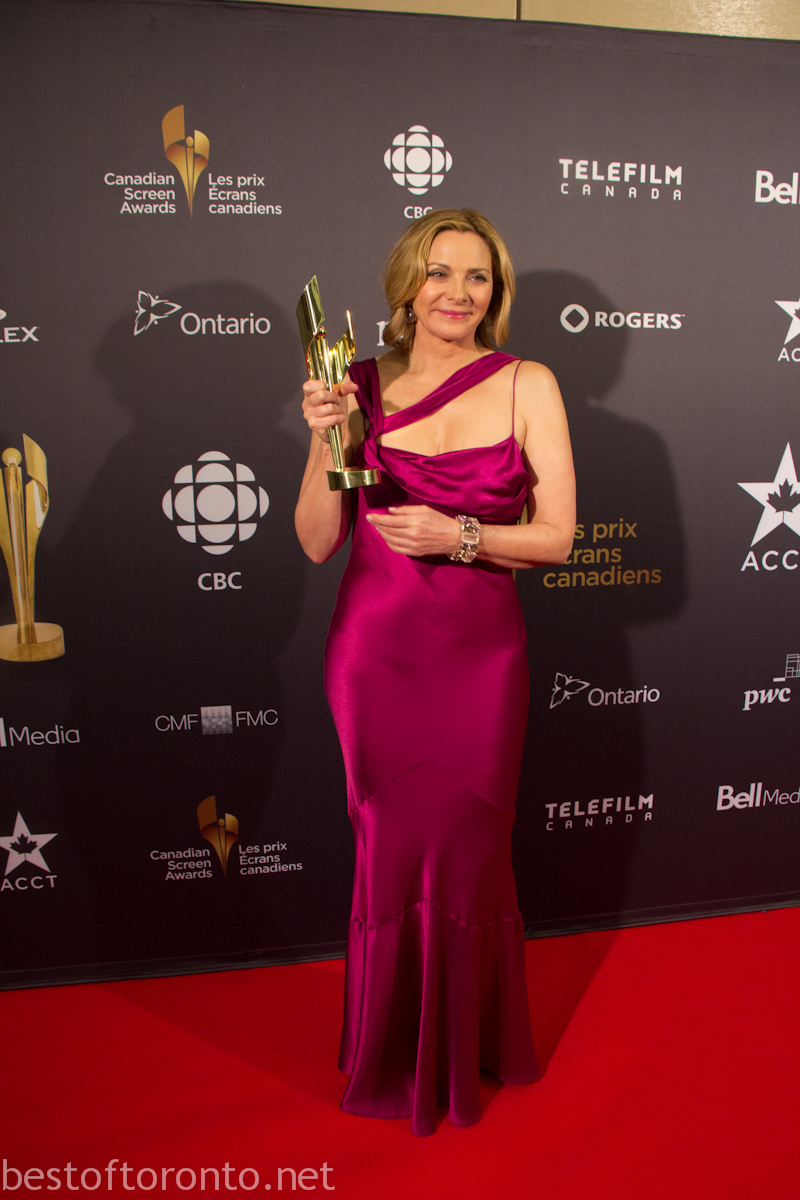 Photos from The Inaugural Canadian Screen Awards | Best of ... Kim Cattrall