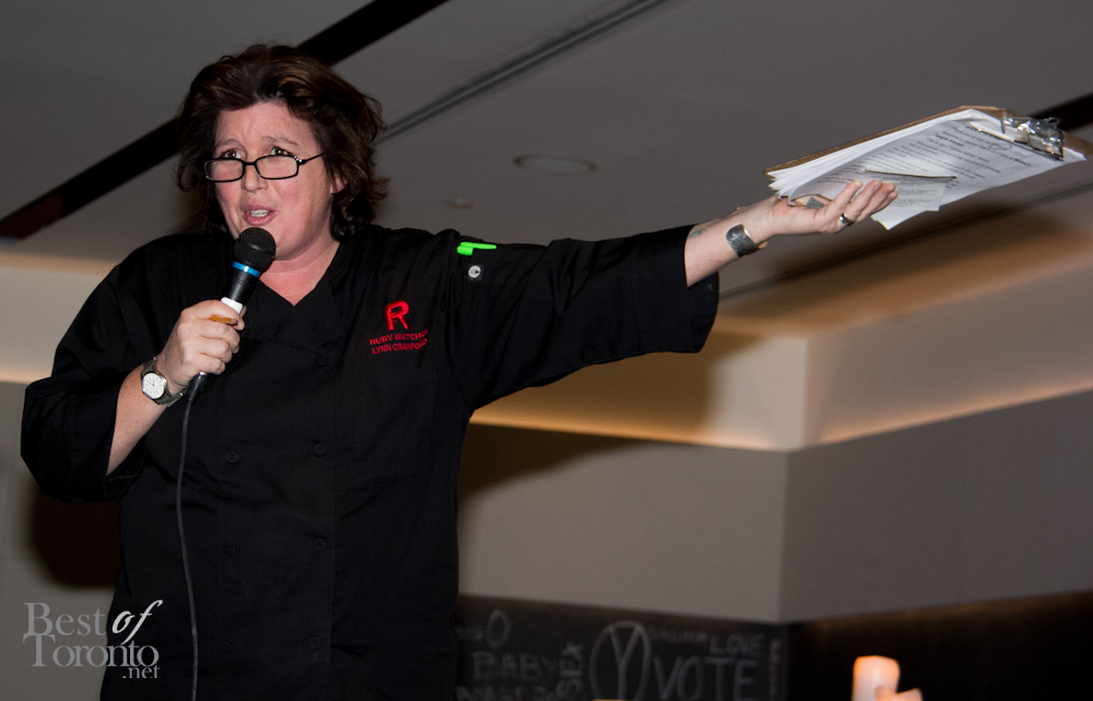 Chef Lynn Crawford