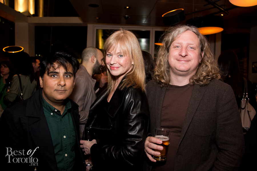 Shinan Govani (National Post), Susan Willemsen (The Siren Group), Joe Warwick (Author, Where Chefs Eat)