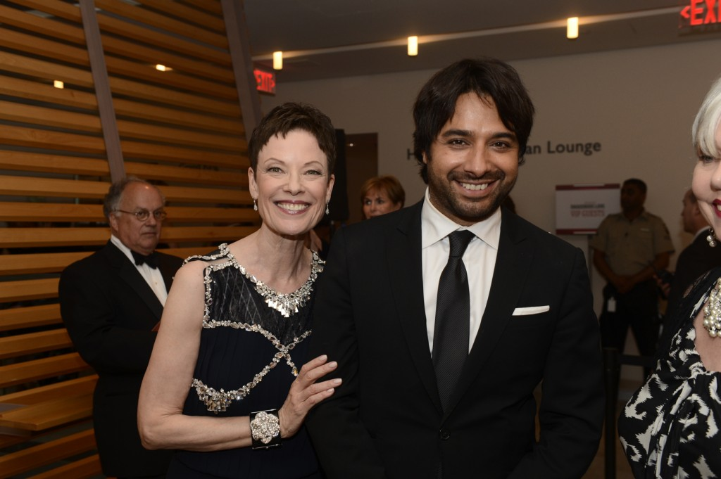 Artistic Director Karen Kain, Jian Ghomeshi Photo: Gary Beechey