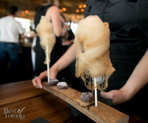 Maple cotton candy with