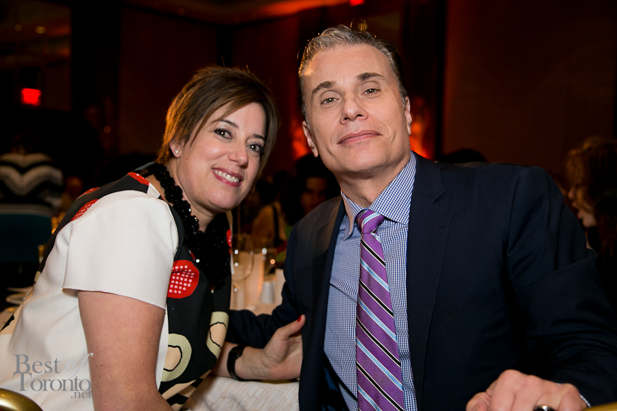 Michael Landsberg and his wife