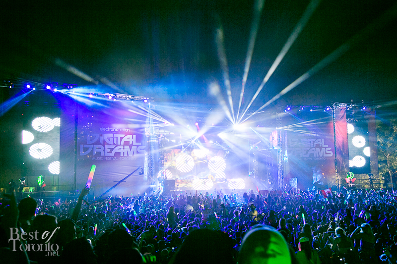 The Tiesto stage at Digital Dreams 2013