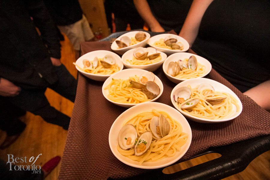 Cibo Wine Bar's clams with al dente pasta