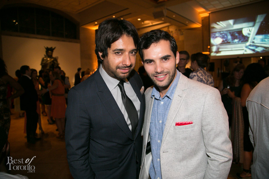 left: Jian Ghomeshi