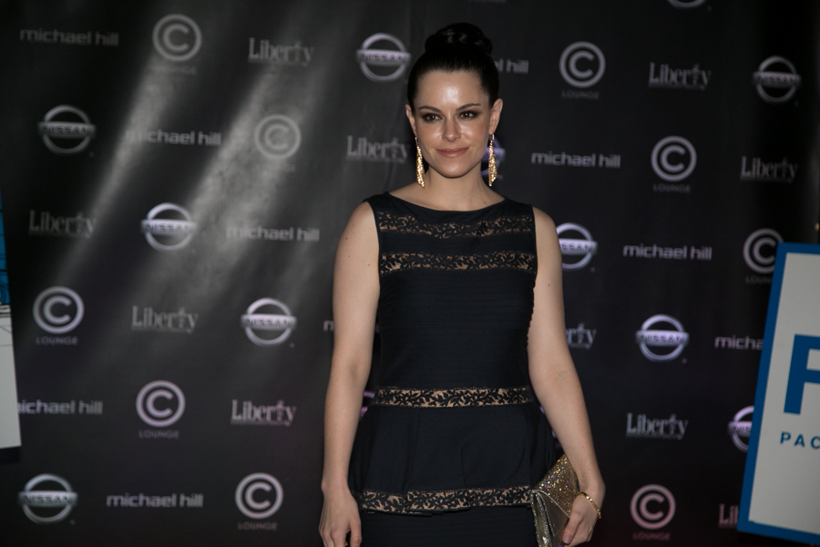 Emily Hampshire, All the Wrong Reasons after party, C Lounge