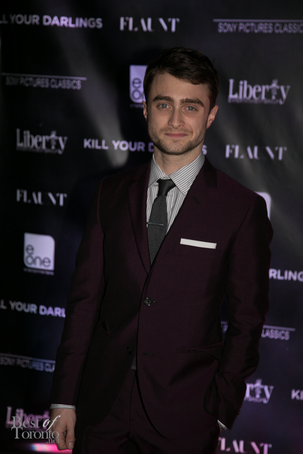 Daniel Radcliffe at the Kill Your Darlings after party at C Lounge