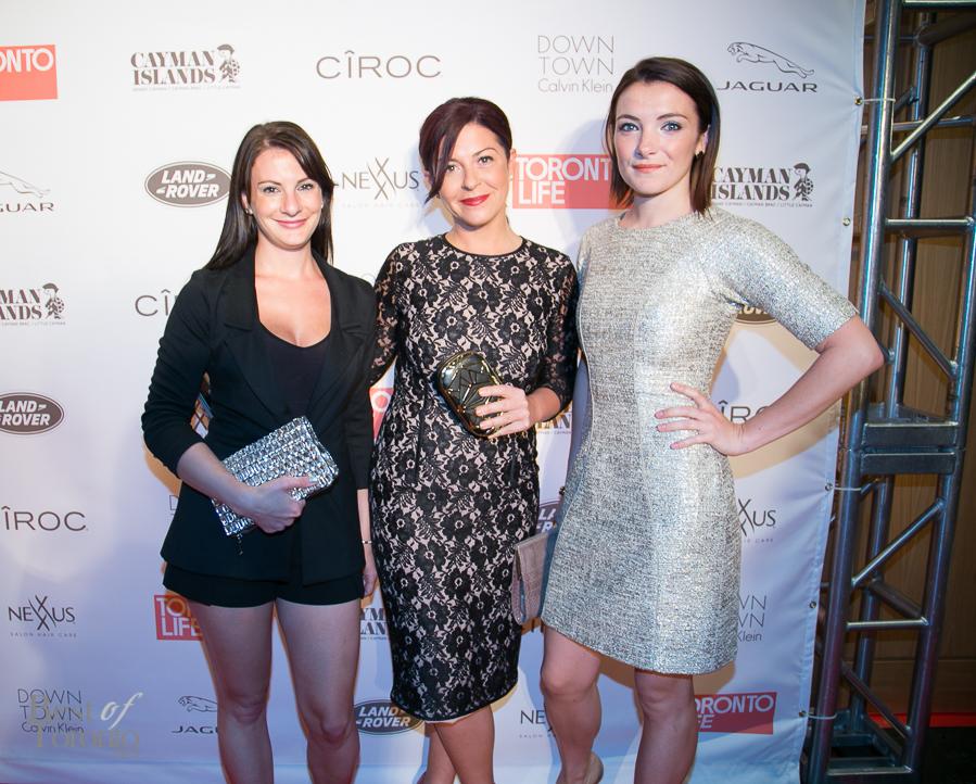 Valerie Stachurski, Nicki Laborie, Samantha Millar