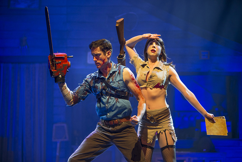 Ryan Ward and Laura Tremblay in Evil Dead | Photo: David Hou