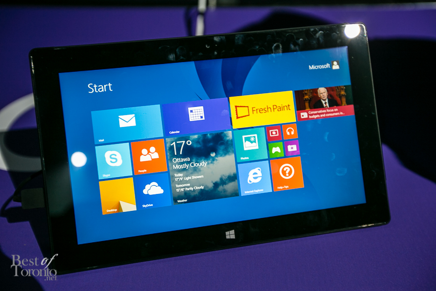 The new Microsoft Surface 2   Photo: John Tan