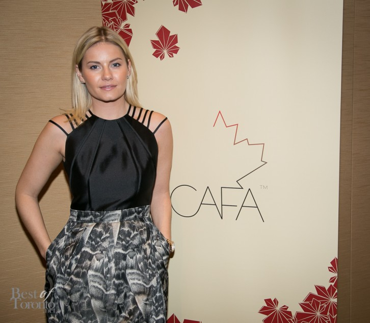 Elisha Cuthbert at the CAFA nominees announcement