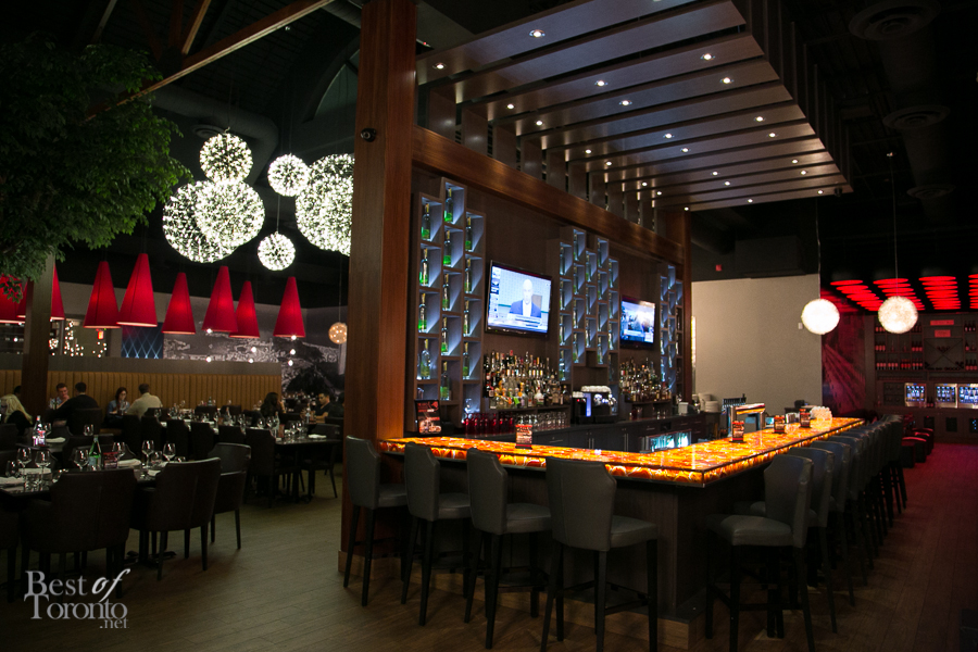 Inside the Touro Brazilian Steakhouse