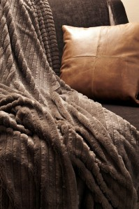Lucian Matis Home faux fur throw