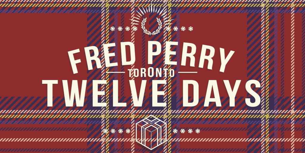Fred Perry Twelve Days of Giveaways