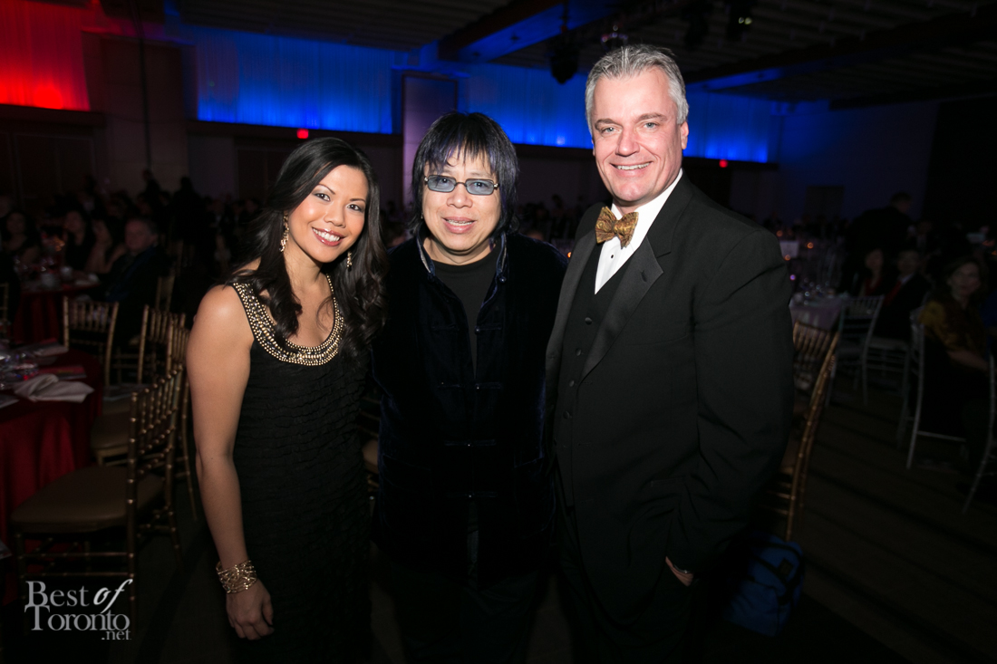 Melanie Ng (City), Chef Alvin Leung, Roger Peterson (City)