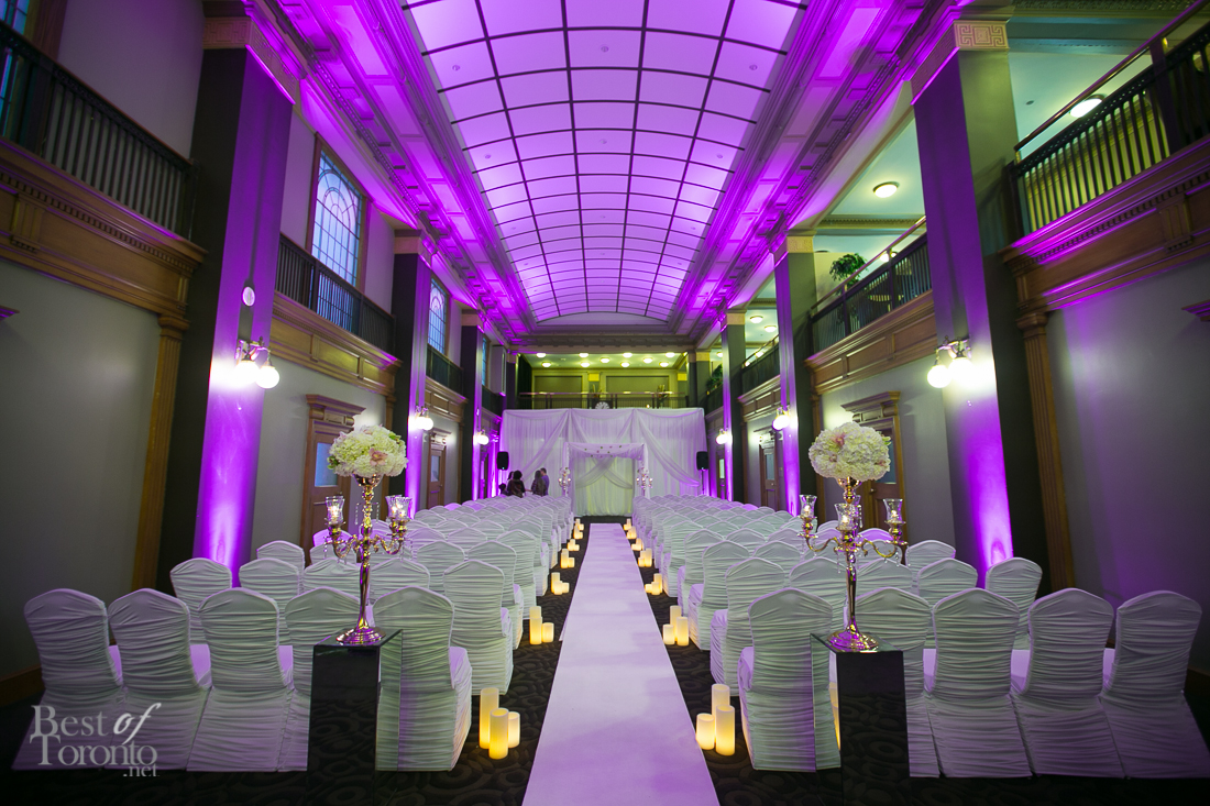 A Look At One King West For Weddings And Events