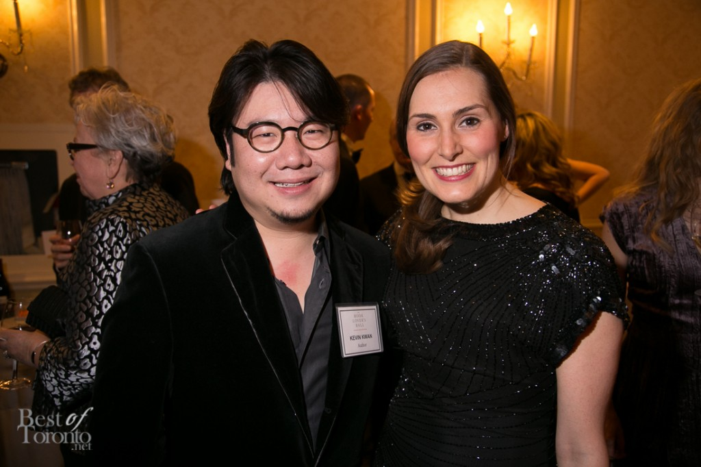 "Kevin Kwan, author of ""Crazy Rich Asians"" with his publicist"