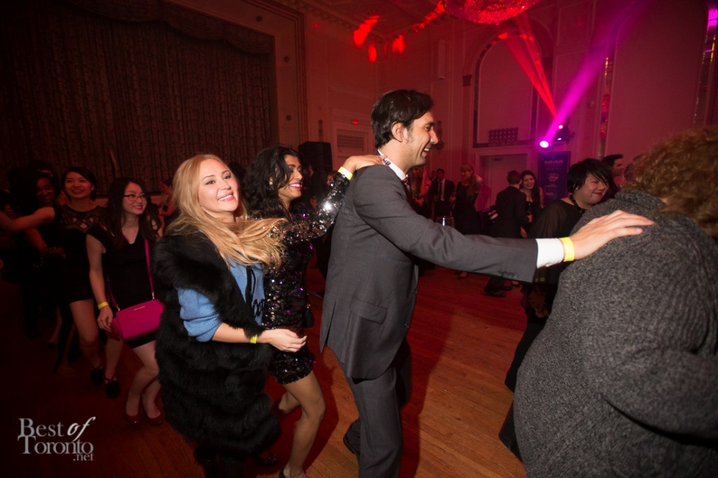 Dancing at the CAFA after party