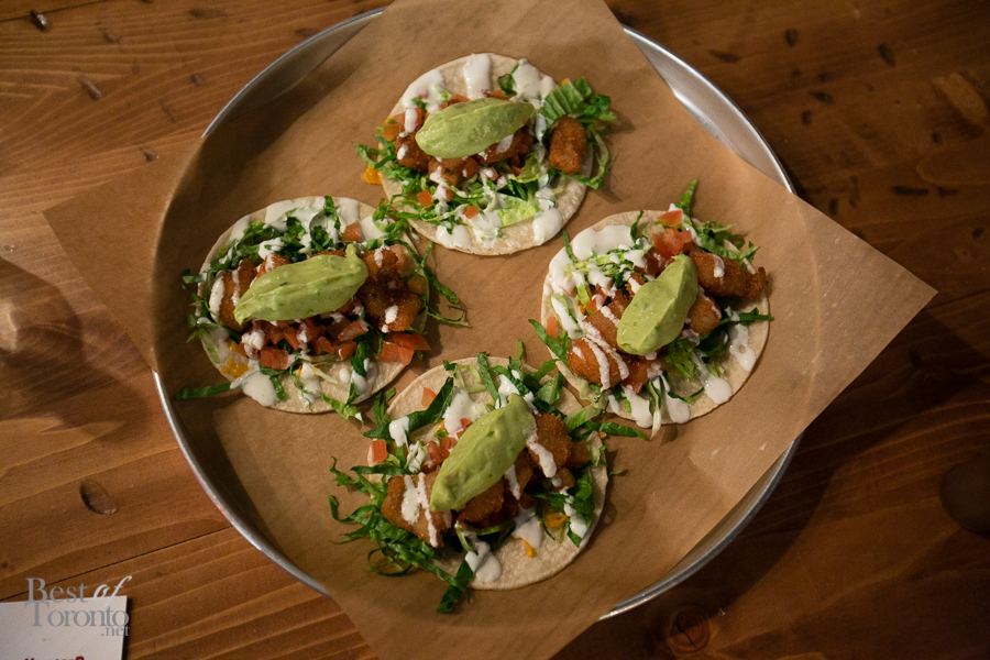 Another delicious favourite Cali Baja Tacos with crispy breaded Alaskan pollock