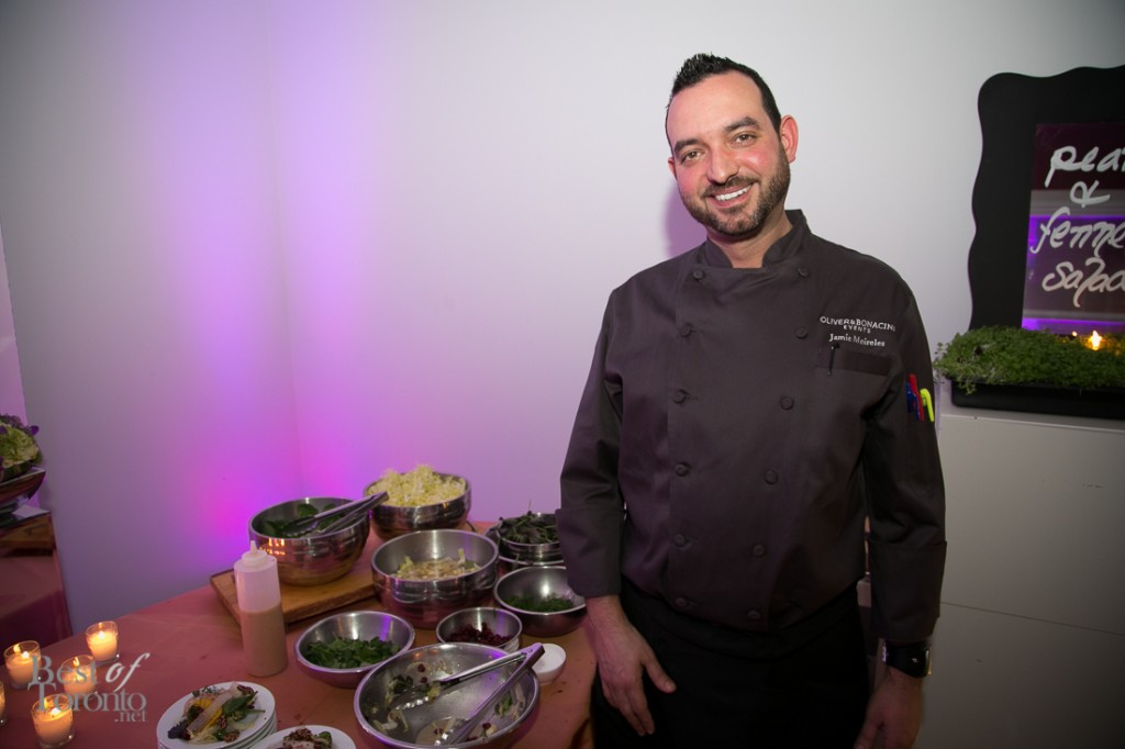 Jamie Meireles, Oliver & Bonacini Corporate Chef