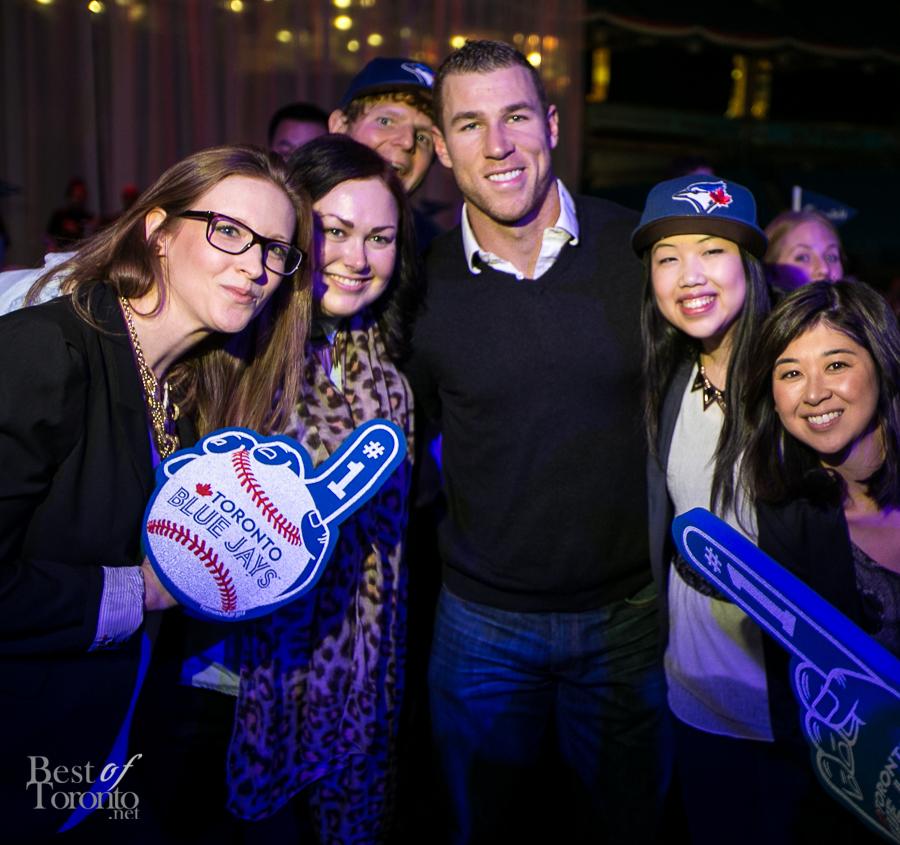 Brett Lawrie with fans