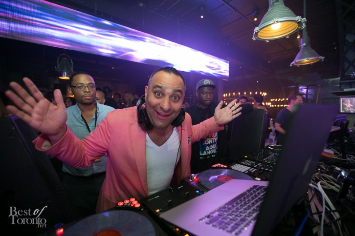 DJ Russell Peters at UNIUN Night Club Sept 7th, 2013 | Photo: Nick Lee