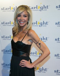 Carla Collins, comedian and host of the Starlight Gala 2014