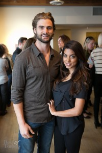 Mike Bradwell, Aliya-Jasmine Sovani | Photo: Nick Lee