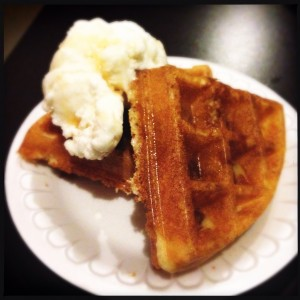 Waffles & Ice Cream by Popup Markets