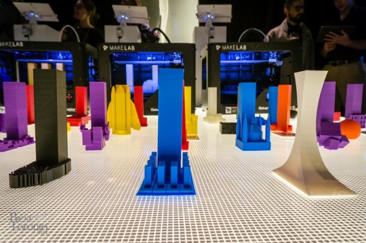 Partisans' 3D printed building concepts