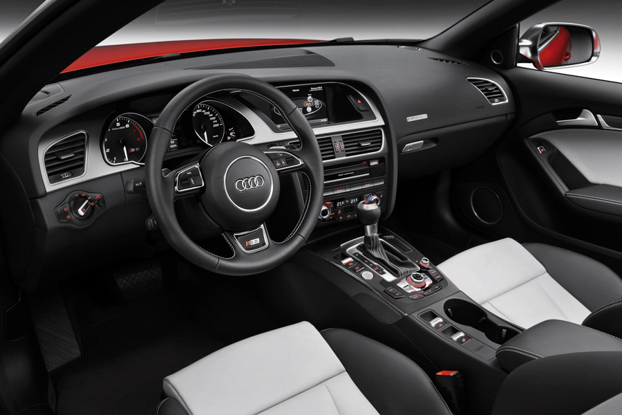 The Well Appointed Interior Of The Audi S5 Cabriolet