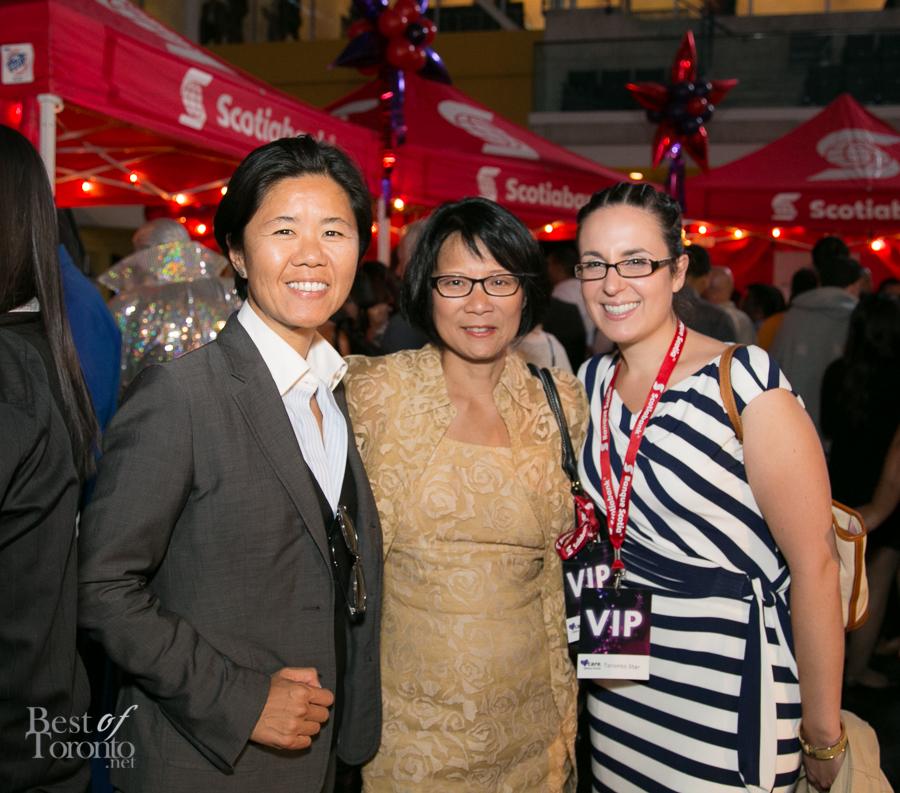 Councillor Kristyn Wong-Tam, MP Olivia Chow   Photo: James Hsieh