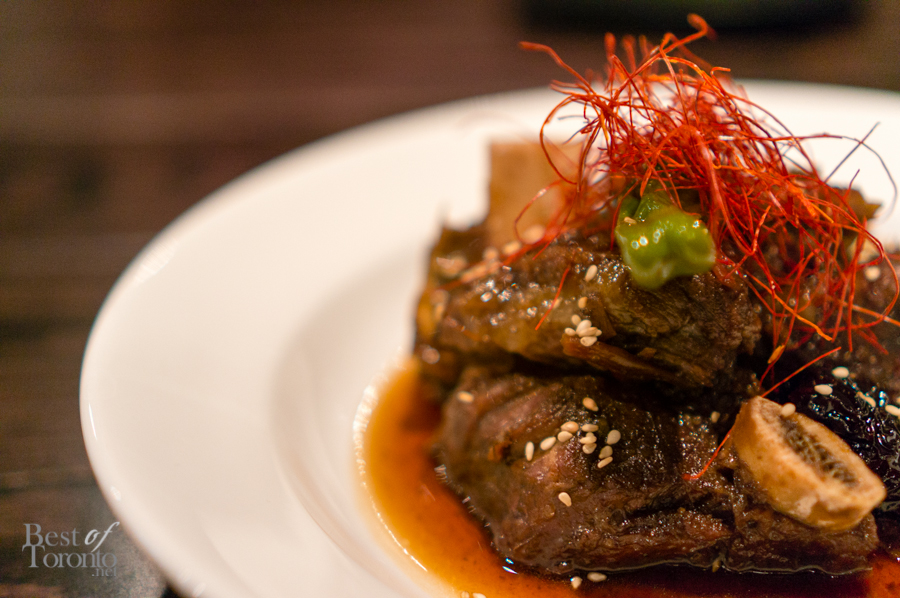 Braised beef short rib | Photo:  John Tan
