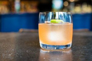 Le Kio made with Tequila Tromba, lime, agave and paprika