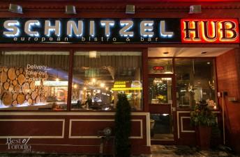 Schnitzel Hub   Photo: Nick Lee