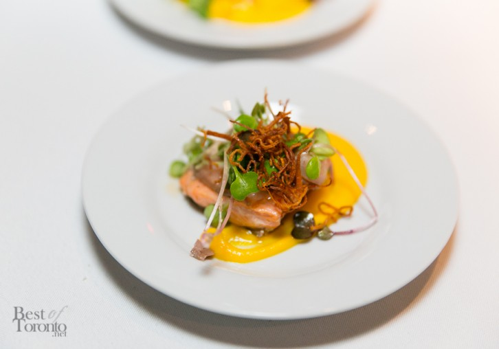 Fennel and carrot glazed trout by The Stop CFC
