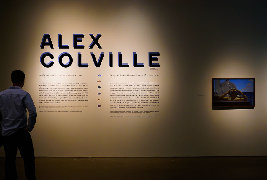 Alex Colville Exhibit