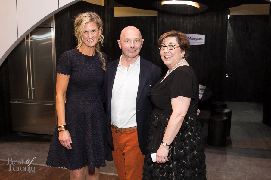 Shauna Levy (Design Exchange), Philippe Meyersohn (GE Monogram), Stephanie Karapita (Casey House)