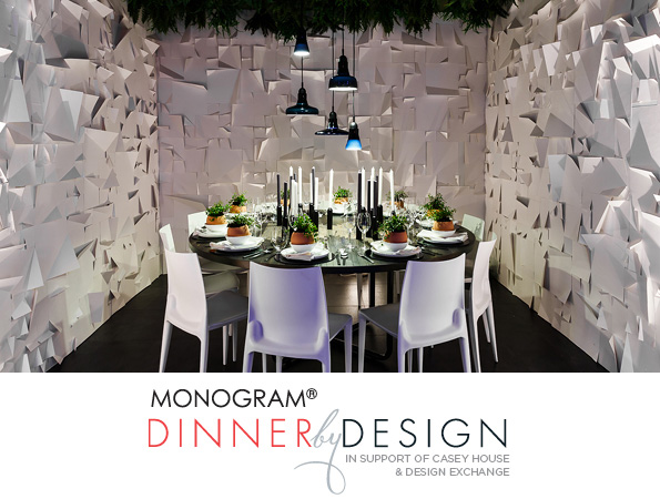 GE Monogram Dinner by Design