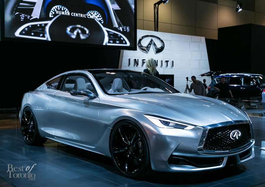 Highlights Of The CIAS Auto Show Best Of Toronto - Infiniti car show