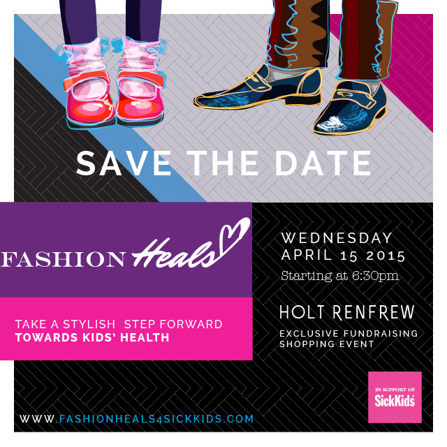 Fashion Heals 2015 Save The Date
