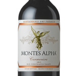 Dry farmed 2012 Montes Alpha Carmenère