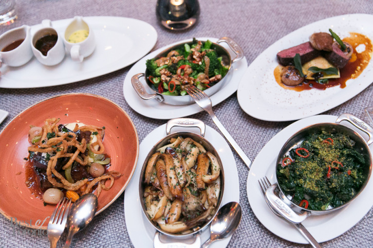 A quick shot of some of the many shared plates | Photo: Nick Lee