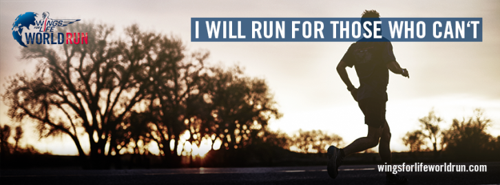 Upcoming: Run for those who can't with the Red Bull Wings for Life World Run