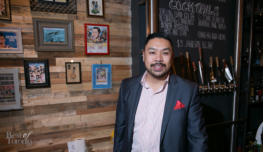 Trevor Lui, co-owner of the new Kanpai Snack Bar | Photo: Nick Lee