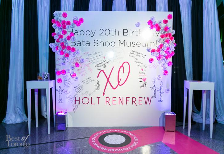 Bata Shoe Museum's 20th Anniversary Gala