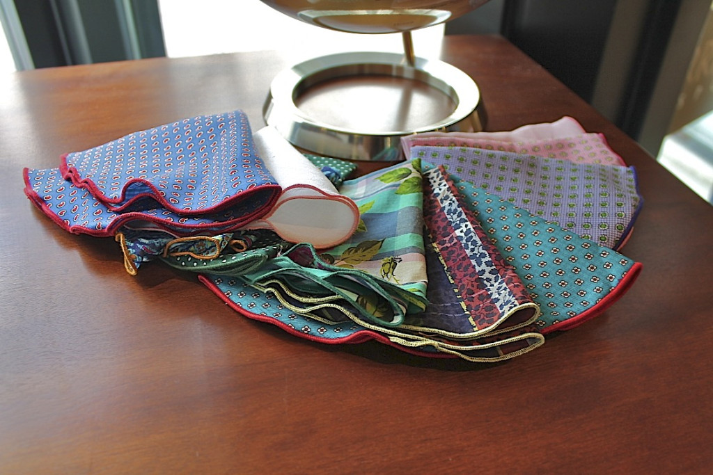 Unique pocket squares from Garrison Bespoke