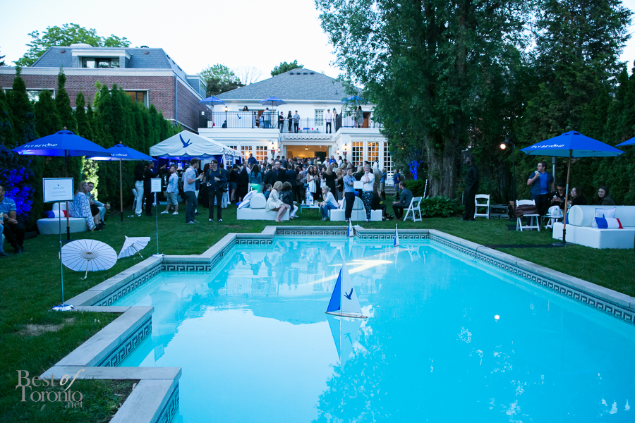 In photos a summer soir e hosted by grey goose best of for Pool show toronto 2015