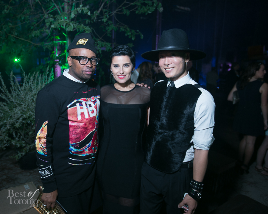 Kirk Pickersgill, Nelly Furtado, Stephen Wong
