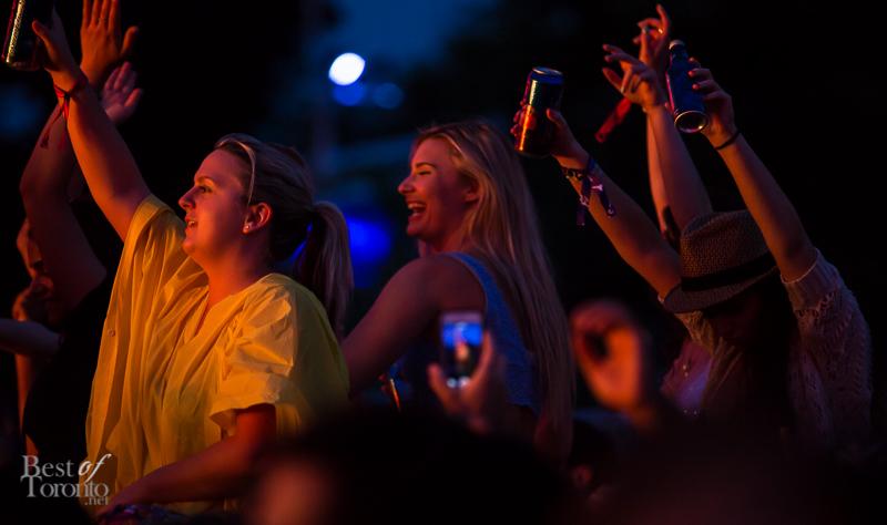 The audience for Flux Pavilion